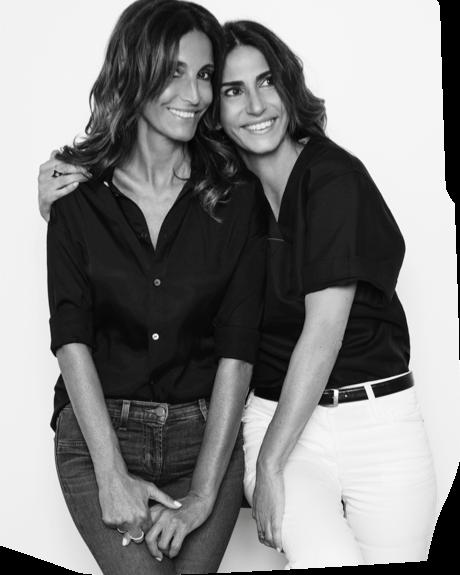 Photo des soeurs Evelyne Chetrite et Judith Milgrom