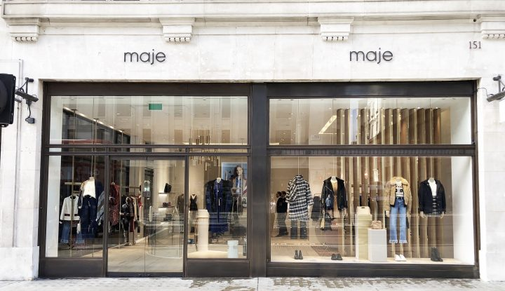 Maje store opening in the Rockefeller Centre in New York